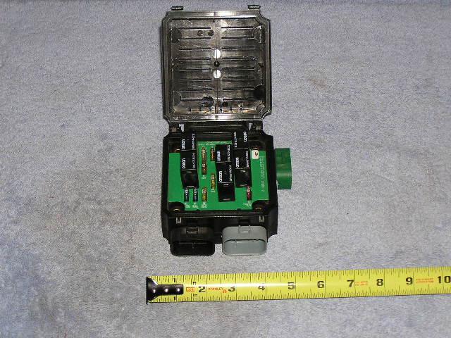 rv trailer bussmann panel fuse block breaker junction box alpine wrv ebay