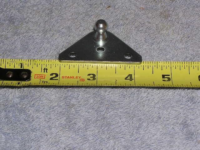 RV Marine Car gas shock strut spring plate door lid hood ball bracket mount 10MM