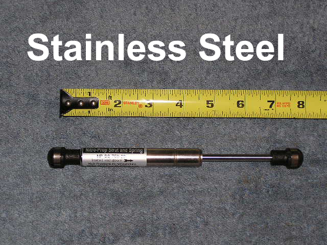 Marine Boat Stainless Steel 7 5 inch 20 pound Gas Strut Shock Spring lift Support rod
