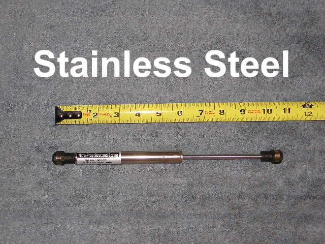 Stainless Steel Gas Strut Spring lift Support Shock Damper Tube 10 30 lb SS