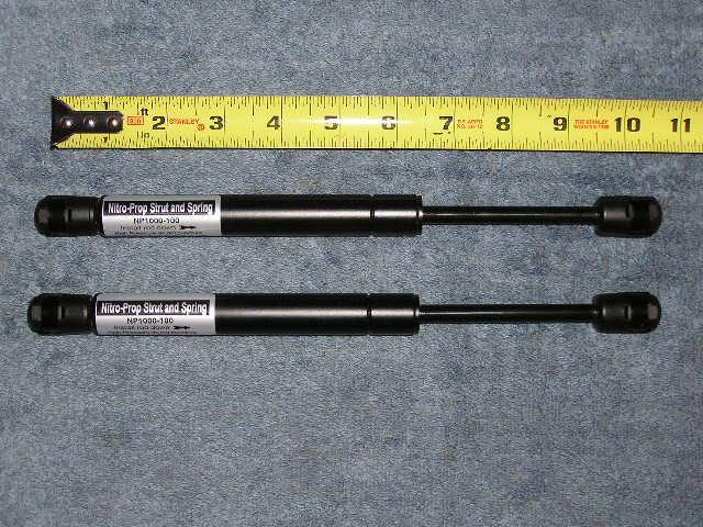 SET 10& 34 100 HD Hood Trunk Door Nitro Prop Strut Spring Lid Lift Prop Rod
