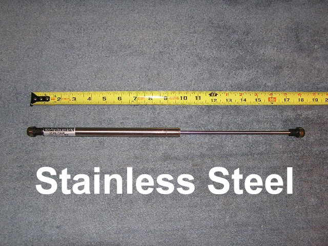 Stainless Steel 17 2 in RV Marine Gas Spring Shock Strut lift Support prop Tube 20 LB