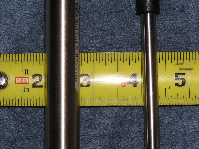 "SET Stainless Steel RV Marine 20"" 40# Nitro-Prop Strut Spring Shock Lift Rod"